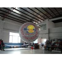 Filled helium sphere balloons with two sides digital printing for Outdoor advertising Manufactures