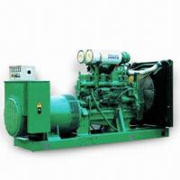 China Natural Gas/LPG/Diesel Generator Set with 3 Phases Connection Method and 230 or 400V Rated Voltage on sale