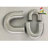 Heat Resistant Fireproof Semi Rigid Aluminum Duct Flexible Air Exhaust Duct Hose Pipe Manufactures