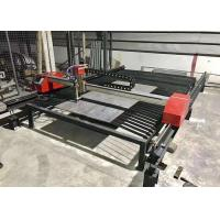 High Speed Portable Cnc Plasma Cutting Machine With Dual Drive Stepper Motor Manufactures