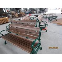 Quality Wooden Garden Seats Benches , Wooden Outside Benches Waterproof for sale