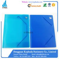 Buy cheap Plastic file folder with elastic band from wholesalers