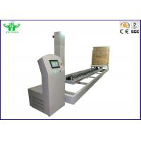 ISTA 3E Touch Screen Controlled Paperboard Package Incline Impact Strength Tester 100KG - 600KG Manufactures
