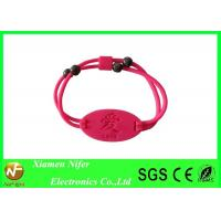 Fashion Multi-color Women Bracelet Customized Silicone Wristbands for Gift / Party / Wedding Manufactures