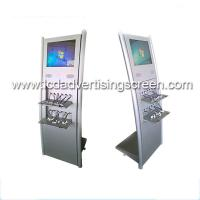 Floor Stand Lcd Advertising Display Built In Multi Public Mobile Phone Charging Station