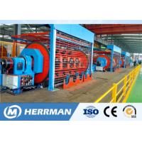 Independent Drive Rigid Frame Strander Cable Equipment For Copper / Aluminum Conductor Manufactures