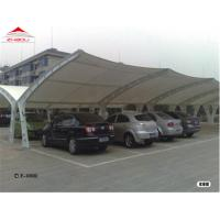 Quality Durable Tensile Membrane Structures For Commercial Building / Greenhouse for sale