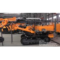 Crawler Borehole Surface DTH Drilling Rig Machine Drilling Rig Equipment For Granite Manufactures