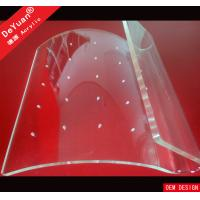 Clear Earrings Acrylic Jewellery Display Stands Holder Hot Bending Manufactures