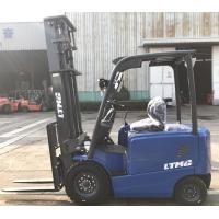 China 4 Wheel 2500kg Electric Forklift Truck , Battery Powered Forklift Truck on sale