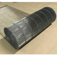 Stainless Steel Flat Flex Wire Mesh Conveyor Belt For Drying And Cooling Manufactures
