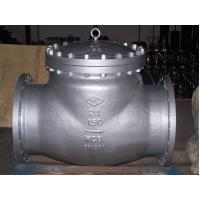 High Performance API 598 Test, ANSI B16.10, A216 WCB swing check valve ISO&CE certificate Manufactures