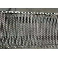 Food industry Chain wire mesh belt 304 stainless steel for Vegetable washing machine Manufactures