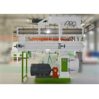 China Corn Wheat Wood Pellet Manufacturing Equipment Poultry Feed Pellet Machine on sale