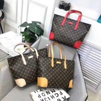 China LV Louis Vuitton hand carry a veal bag, interior decoration with two small bags,  material: on sale
