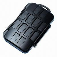 Water-resistant Extremely Tough Memory Card Case, MC-1 for 4 CF Cards 8 MS Pro DUO  Manufactures