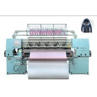 Jacket Padding 64 Inch High Speed Quilting Machine With Pattern Patch Up Function Manufactures