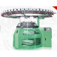 China Seamless Weaving Industrial Sweater Knitting Machine RPM30 Bright Green Color on sale