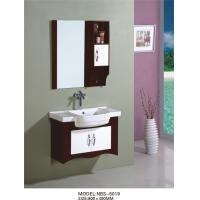 80 X49/cm PVC bathroom vanity / wall cabinet / hanging cabinet / walnut color for bathroom Manufactures
