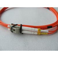 Multimode LC Optic Fiber Patch Cord FTTH Fiber Optic Jumper LC Patch cord Manufactures