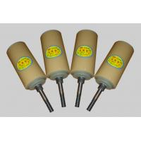 Dustproof Sidewall Belt Roller Nylon Conveyor Rollers With Naturial Color Manufactures