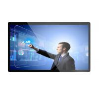 Zero Bezel Industrial Touch Screen Monitor , High Definition 55 Inch Lcd Monitor Manufactures