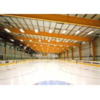 Painting Steel Frame Building Kits / Steel Structure Building For Ice Sport Center Manufactures