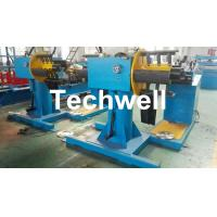 Manual / Passive Type Uncoiler Machine With Rotary Double Head Mandrel For Supporting The Coil Strip Manufactures