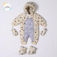 Wholesale Buy 12M 18M 24M Designer Boy Girl Clearance Down Filled Warmest Best Baby Toddler Snowsuit With Hood Manufactures