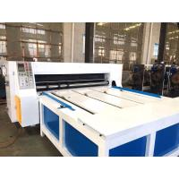 Corrugated Box Die Cutting Machine / Industrial Rotary Die Machine Manufactures