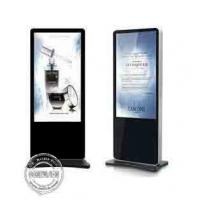 Buy cheap Battery Powered Digital Signage Floor Stands , Touch Screen Kiosk Stand 86 Inch from wholesalers