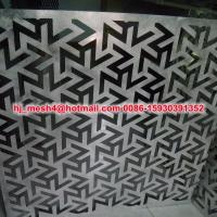 Quality Aluminum PVDF External Laser cut wall panels for sale