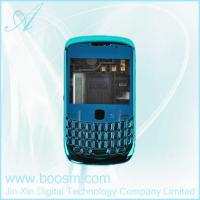 Mobile blue plating case covers for blackberry 8520 in high quality Manufactures