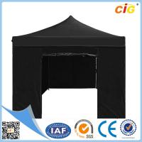 China Black 3x6 Pop up Gazebo Folding Tent Party Marquee Market Stall Outdoor Shade on sale