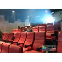 Electrical / Hydraulic 4D Movie Theater Equipment For Action Movies 4 - 100 Seats Manufactures