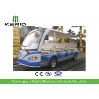 11 Seater Electric Shuttle Car With Curtis Controller For Hotel Reception 72V/5KW Motor Manufactures