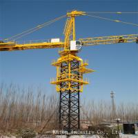 1250kN.m Rated lifting moment New technology reliable Electric Tower crane QTZ125-TC5620 Manufactures
