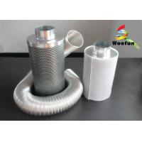 Zinc Anodized Steel Activated Charcoal Air Filter Efficiency With Cotton Mesh Manufactures