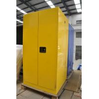 Three Layers Grounding Flammable Gas Storage Cabinets 60 GAL for Chemical Manufactures