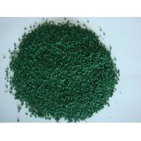 EPDM Green Coloured Rubber Crumb For Professional Training Grounds Manufactures