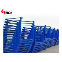 China Factory used stackable metal storage steel frame with galvanized surface on sale