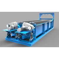 China 18° Flume Gradient Sand Washing Machine With Independent Hoisting Equipment on sale