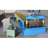 China PLC Panasonic Steel Roof Floor Deck Roll Forming Machine Customized on sale