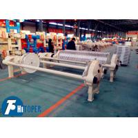 Stone Wastewater Plate Filter Press Equipment With 40m2 Filtration Area Manufactures