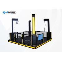 4P Shooting Game Simulator With PP Gun Small Area Automatic Adjust Glasses Height Manufactures