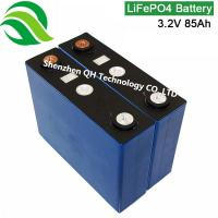 Lithium polymer replace lead acid battery Agricultural vehicles Wind power supply 3.2V 86AH LiFePO4 Batteries Cell Manufactures