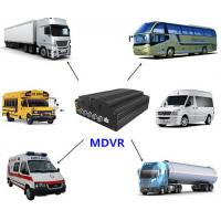 Four - In - One 4 Channel Mobile DVR , 720P SD Card Mobile DVR With HDD Heating Functions Manufactures
