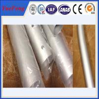 CNC/drilling/bended aluminium pipes tubes specially for rack/tent,aluminium tent pipes Manufactures