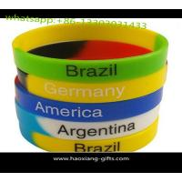 China High Quality Customized Personalized silicone wristbands for promotional gifts on sale