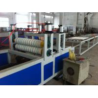 China PP / PC Wavy Corrugated Plastic Sheet Extrusion Line For Roofing on sale
